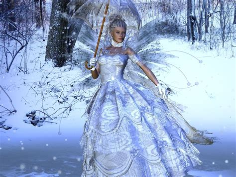 Fairytale Snow | february 2012 fairy background wallpapers