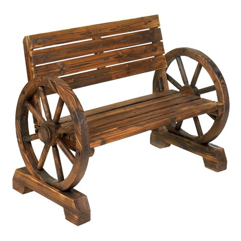 wholesale wagon wheel bench buy wholesale garden decor