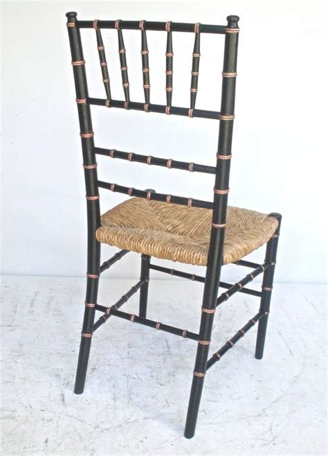 black and gold faux bamboo chairs at 1stdibs