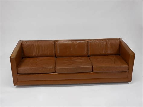 harvey sofas sale leather tuxedo sofa by harvey probber for sale at 1stdibs