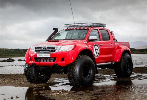 toyota hilux arctic hilux at44 6x6 arctic truck lumberjac