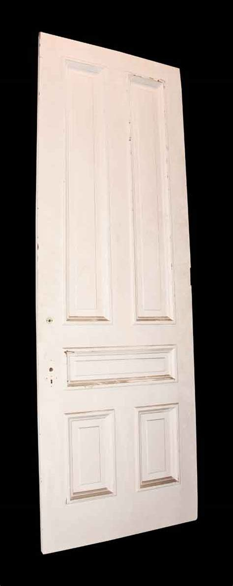 Solid Wood Interior Doors White Antique White Solid Wood Door Olde Things