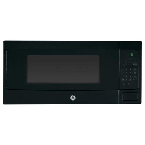 Countertop Microwave In Cabinet by Ge 1 Cu Ft Countertop Cabinet Microwave With