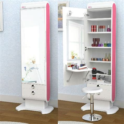 full body vanity mirror with lights details about elegani makeup hair organizer led