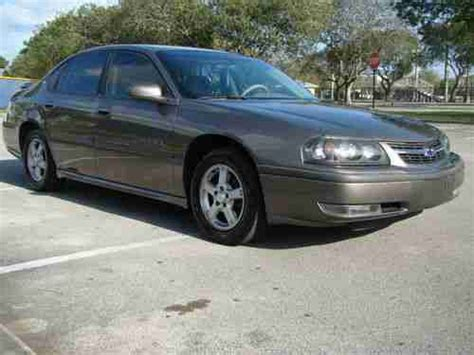 buy   chevrolet impala ls extra clean  miles  michelin tires leather