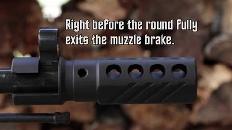 Scope Mount Recoil Compensator best new mosin nagant 91 30 muzzle brake reduces recoil by 50 by howling tactical