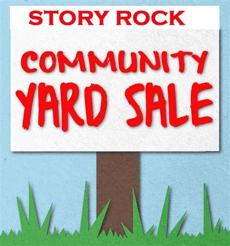 Garage Sale Finder Albuquerque Nw Albuquerque Story Rock Community Yard Sale April 6 2013