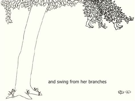 coloring page of the giving tree the giving tree coloring pages coloring pages