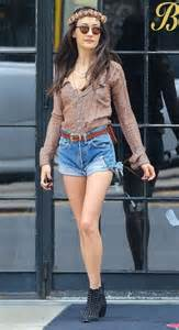 Maggie q studded boots maggie q looks stylebistro