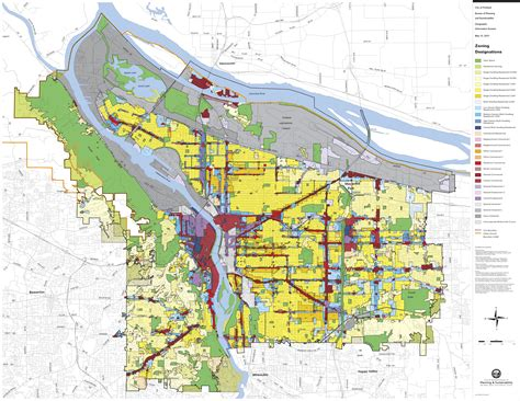 portland oregon zoning map maybe this is why you can t afford to rent in the central