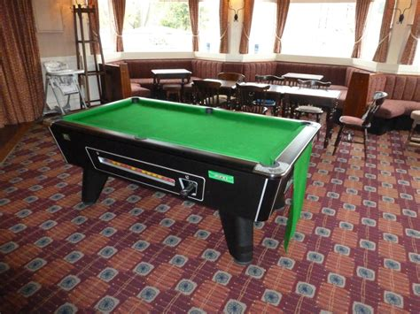 new pool table rental hire pub site in chilwell