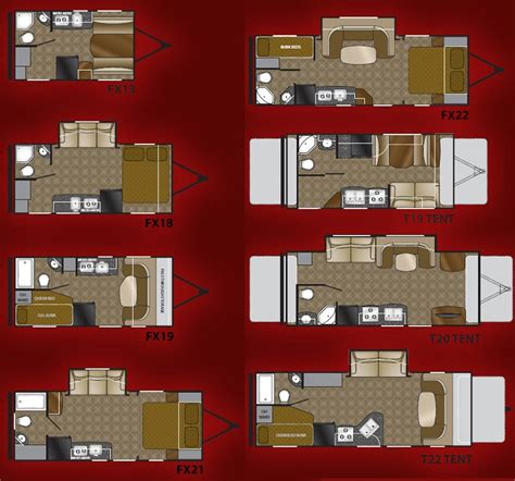 heartland travel trailer floor plans 2011 heartland focus lightweight travel trailer floorplans