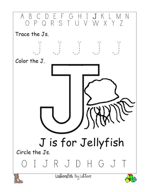 printable worksheets letter j printable letter j worksheets for kindergarten loving