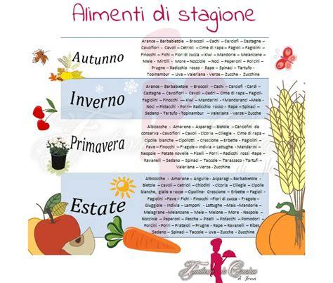 alimenti di stagione frutta e verdura di stagione fantasie in cucina di alessia