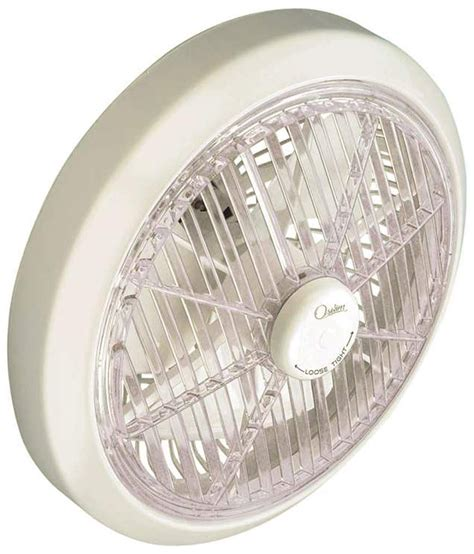 rotating ceiling fans oswim hi speed rotating grill cabin 12 inch white ceiling