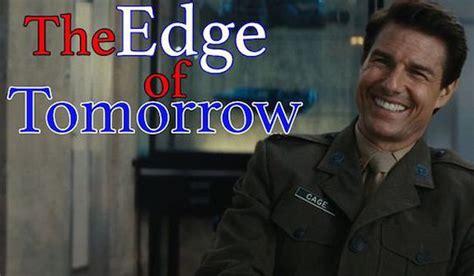 groundhog day edge of tomorrow the edge of tomorrow recut as groundhog day