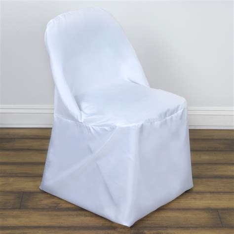 Cloth Chair Covers by 50 Folding Polyester Fabric Chair Covers Wedding