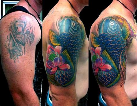 koi fish tattoo cover up 271 best images about future projects on pinterest