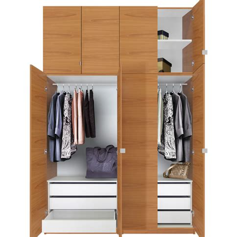 Wardrobe Package Deals by Alta Wardrobe Closet Package 6 Drawer Wardrobe