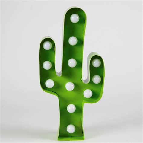 cactus with lights cactus l bring out a look in your home