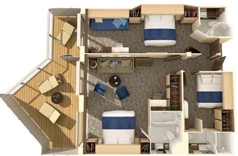 Explorer Of The Seas Floor Plan by Family Connected Junior Suite Quantum Anthem Seas