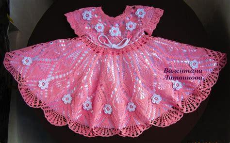 crochet pattern pink girl dress girls crochet dress pattern free crochet patterns