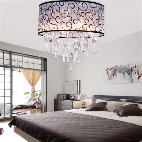 schlafzimmer leuchten ferand le de plafond cristale lustre moderne suspension