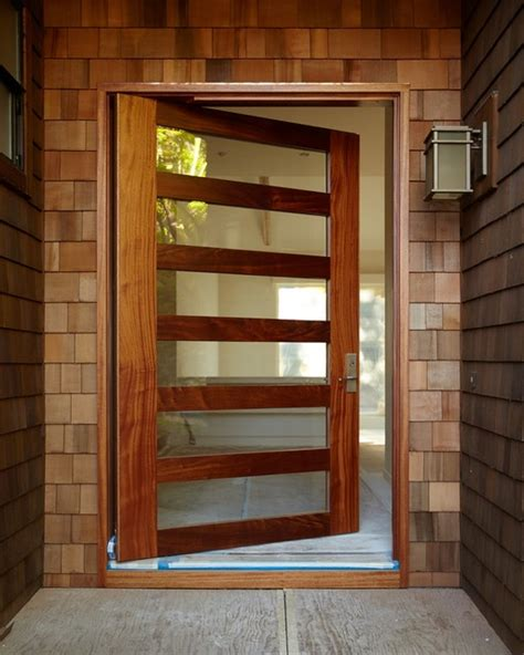 Sydney Pivot Hung Entry Door Modern Front Doors Modern Pivot Front Doors