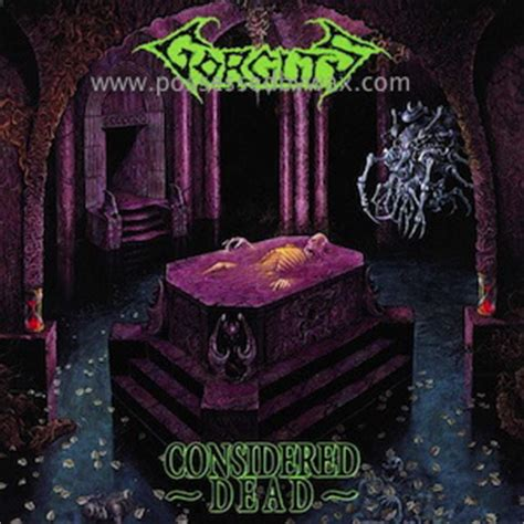 What Are Considered Records Gorguts Considered Dead Vinyl Records Lp Cd On Cdandlp
