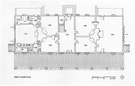 mount vernon floor plan first floor historic structures report mount vernon