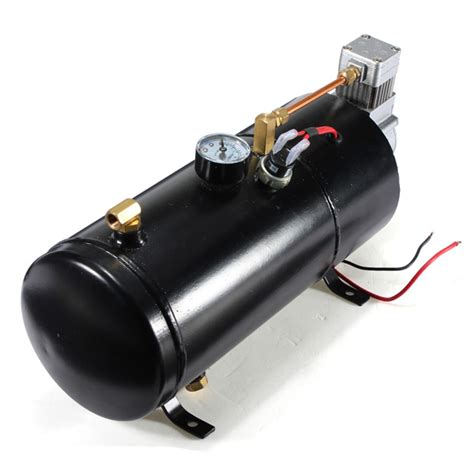 12psi 12 volt air compressor tank for air horns vehicle alexnld