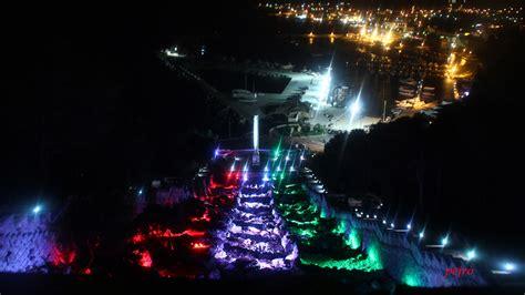 illuminazione artistica inaugurazione d illuminazione artistica della cascata