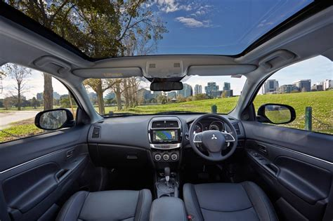 asx mitsubishi interior my15 mitsubishi asx update on sale from 24 990