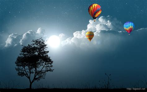 computer k wallpaper air balloons desktop wallpaper background wallpaper hd