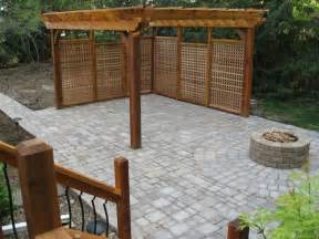 Privacy For Patio by Privacy Walls For Patios Home Design
