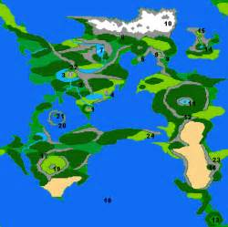 Ff2 World Map by Final Fantasy Ii World Map