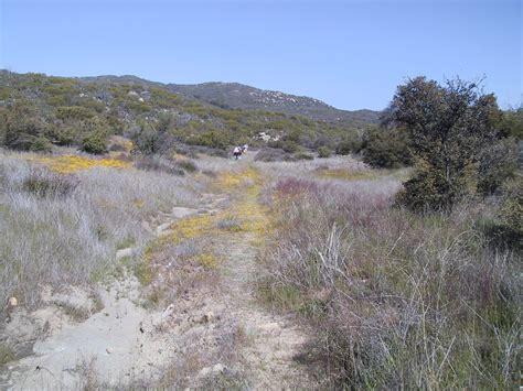 hundred peaks section southern california hiking eagle crag april 09 2004