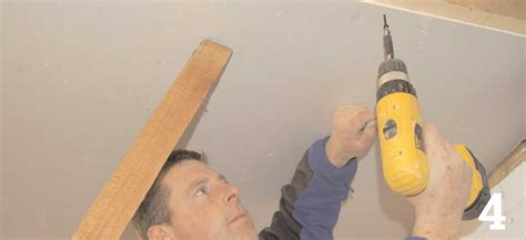 Fixing Plasterboard To Ceiling Joists by How To Fit A Plasterboard Ceiling Homebuilding Renovating