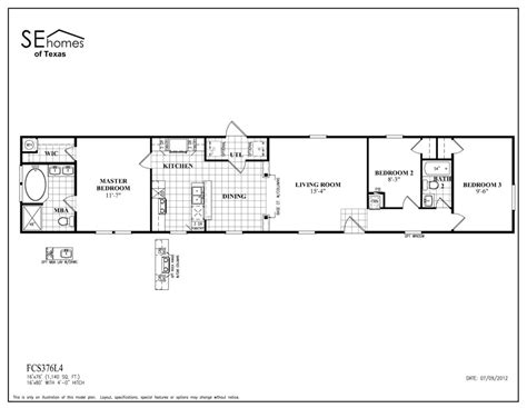 100 fleetwood mobile homes floor plans 1997 oakwood