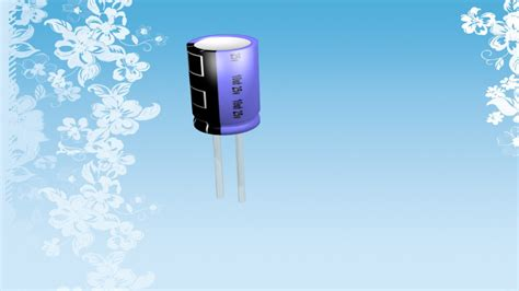 capacitor model capacitor free 3d model 3ds blend mtl cgtrader
