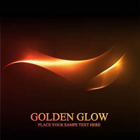golden glow of fundo da linha espiral abstrata brilho dourado vetores