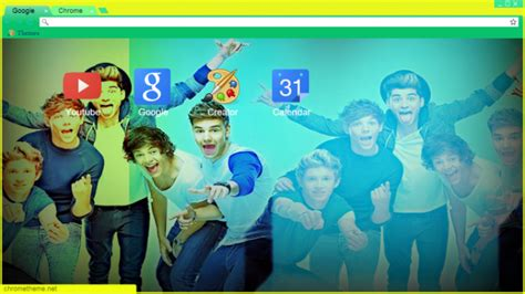 theme chrome one direction top one direction firefox personas chrome themes for