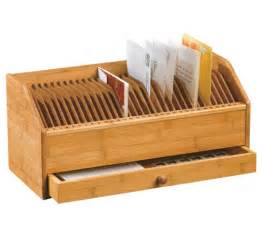 bamboo 31 day bill organizer in mail organizers