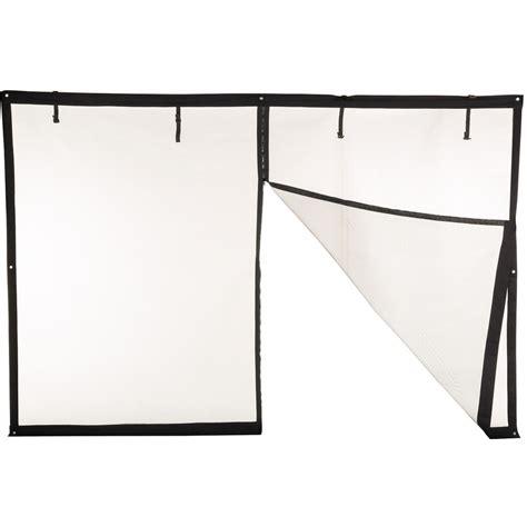 Garage Screen Doors Lowes Shop Comfort Bilt 9 Ft X 7 Ft Roll Up Single Garage Door Screen At Lowes
