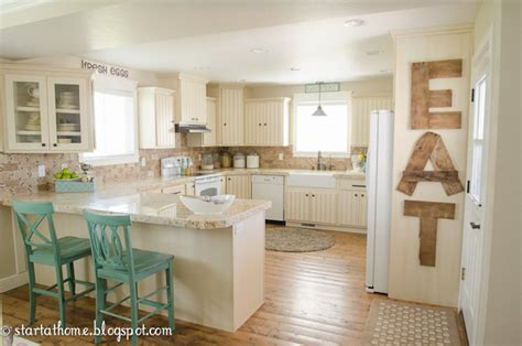 how to add color to a kitchen start at home adding color to the kitchen