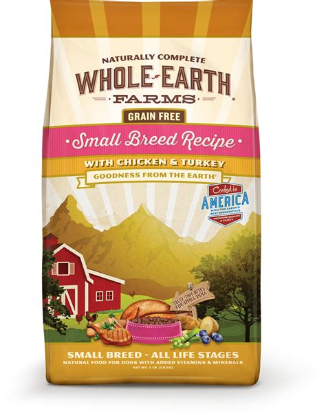 whole earth food reviews whole earth farms grain free small breed food 12 lb bag chewy