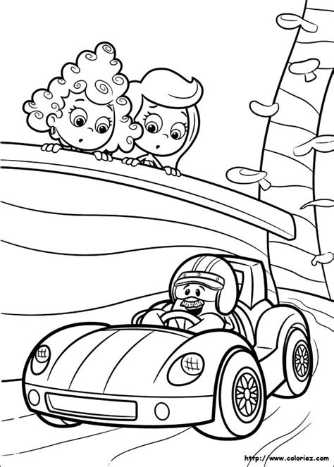 Free Coloring Pages Of Le Bubble Guppies Guppies Coloring Pages