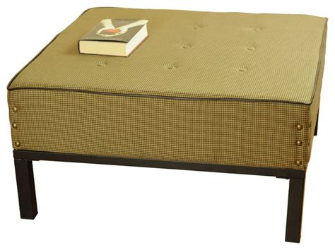 square cocktail table with 4 ottomans oversized square cocktail ottoman contemporary