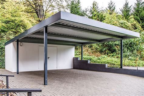 Metall Doppelcarport by Carports Metall Uninorm Technic Ag