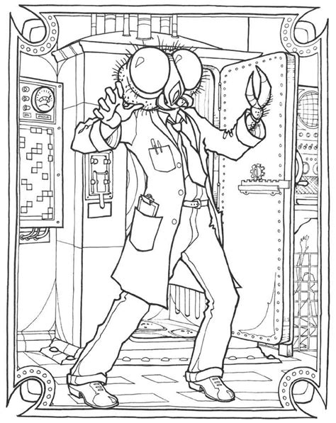 free coloring pages of american gothic